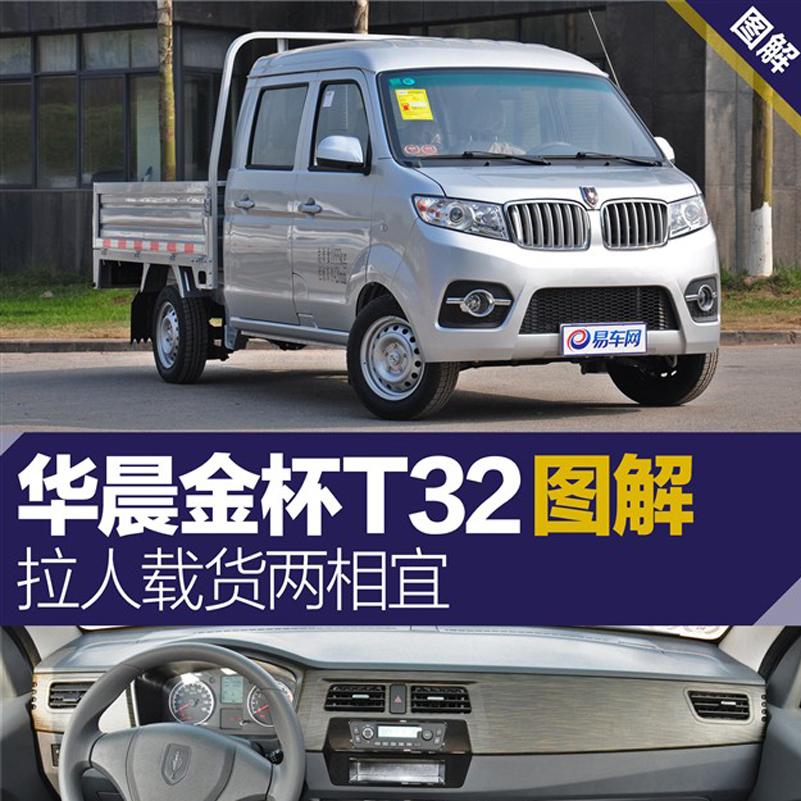 拉人载货两相宜 图解华晨pinnacle平博官网T32
